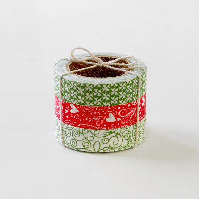 Dailylike Wish Wish Christmas Fabric Tape