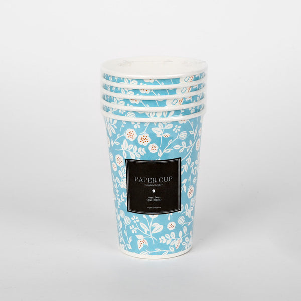 Paper Cups : Beach Flower - 5pk