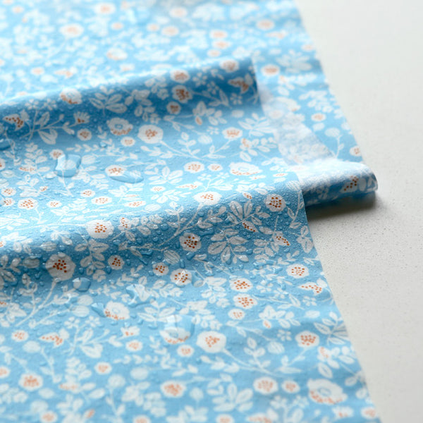 Laminated Fabric Quarter : Beach - Flower