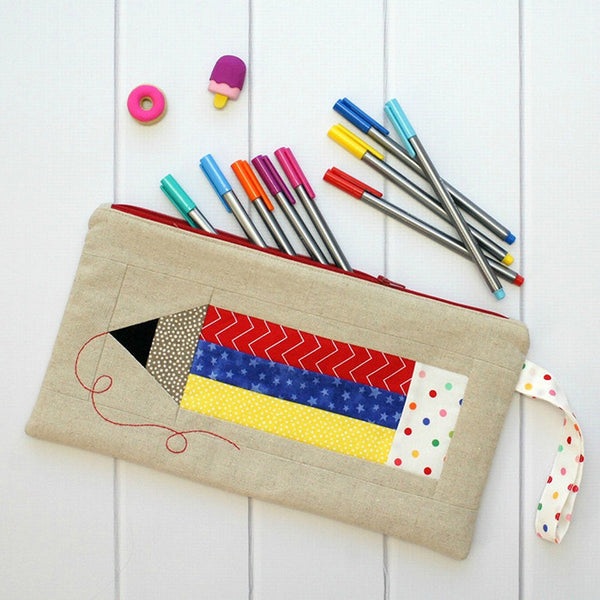 Colour My World Pencil Case Pattern