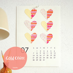 Gold Coast : Crafty Calendars
