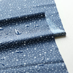 Laminated Fabric Yard : Camping - Starry