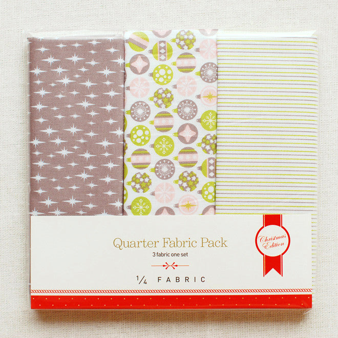 Quarter Fabric Pack : Celebrate