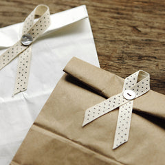 Cotton Ribbon : Cross Dot