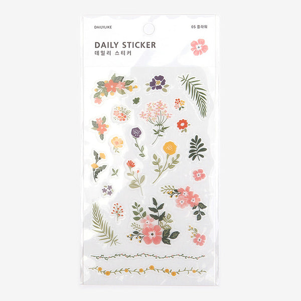 Daily Stickers - Flowers