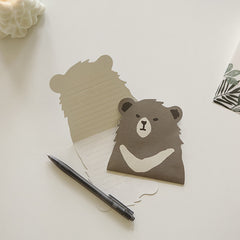 Animal Card : Asiatic Black Bear
