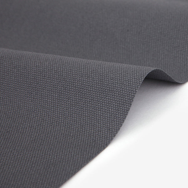 380 Modern Gray 1500mm Cotton Canvas Fabric