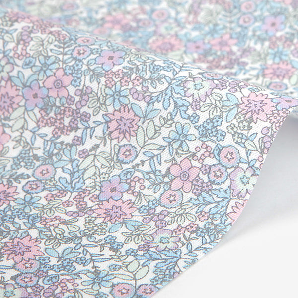 306 A Tiny Flower : Fade 1600mm Cotton 30C Fabric