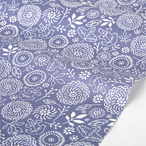 141 Autumn : Autumn Flower 1100mm Cotton 20C Fabric
