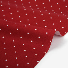 346 Festival : Red Window 1100mm Cotton 20C Fabric