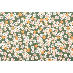 524 Field Flower : Field Flower 1100mm Cotton 20C Fabric