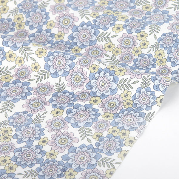 162 Girl : Flower for you 1100mm Cotton 30C Fabric