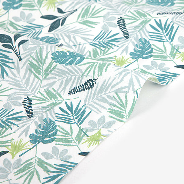 235 In the Tropics : Leaf 1100mm Cotton 20C Fabric