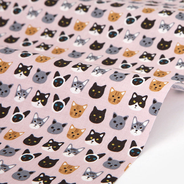 426 My Friends : Kitty 1100mm Cotton 20C Fabric
