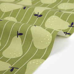 343 Pear : Pear 1100mm Cotton 20C Fabric