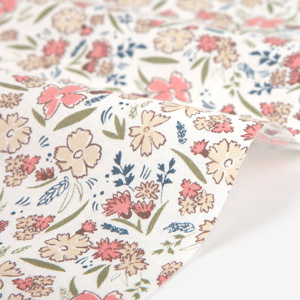 320 Pick Wild Flower : Pick Flower 1600mm Cotton 30C Fabric