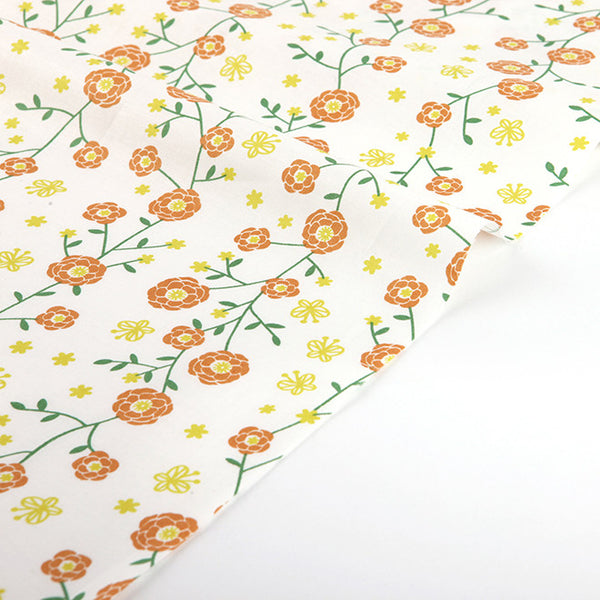 168 The Scent of a Flower : Butterfly and Flower 1100mm Cotton 30C Fabric