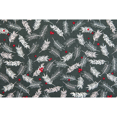 377 Winter Greenery 1500mm Cotton Oxford Fabric