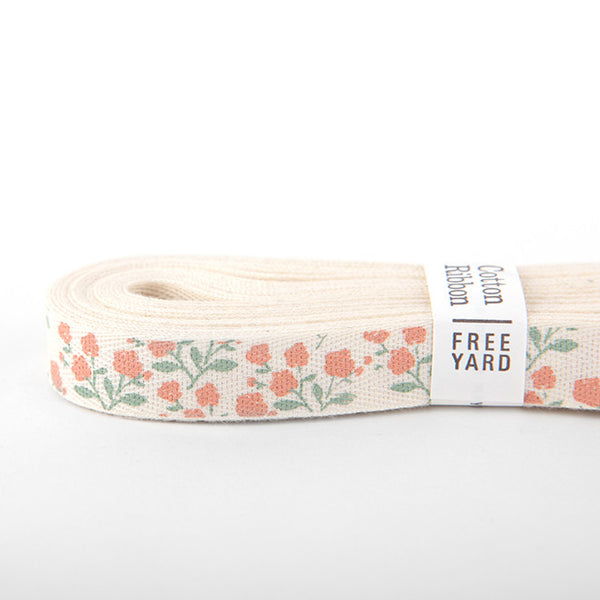 Cotton Ribbon : Rose Garden