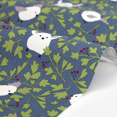 388 Long Tailed Tit 1500mm Cotton Oxford Fabric
