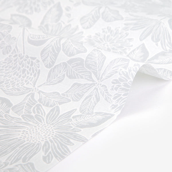 395 Mono Flower : Mono Flower 1600mm Cotton 30C Fabric