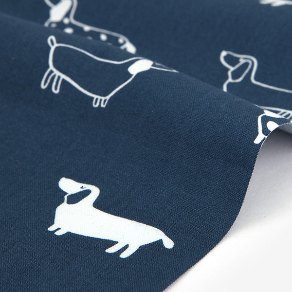 399 Dachshund : Dachshund 1100mm Cotton 20C Fabric
