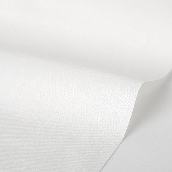 003 Pure White 1100mm Cotton 20C Fabric