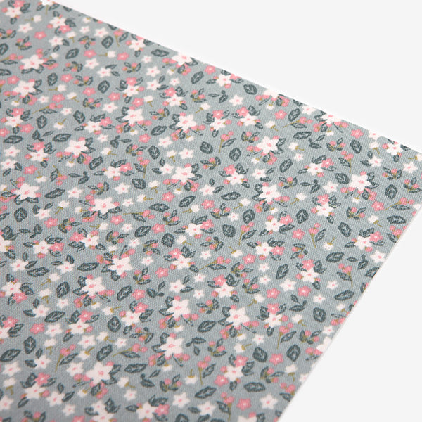 Adhesive Fabric A4 1pk : Apple Blossom
