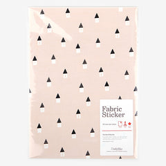 Adhesive Fabric A4 1pk : House