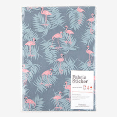 Adhesive Fabric A4 1pk : Flamingo