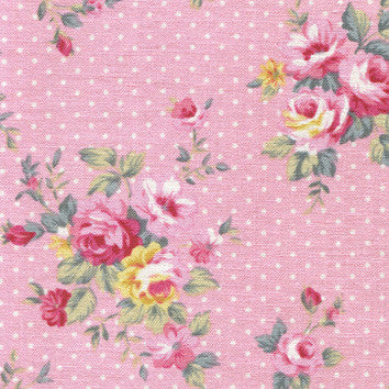 Adhesive Fabric A4 1pk : French Rose - Pink