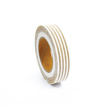 Fabric Tape : Stripe - Beige