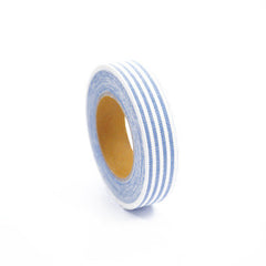 Fabric Tape : Stripe - Sky Blue