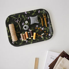 Fabric Tray : Thistle