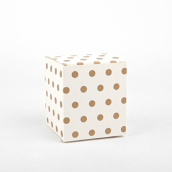 Gift Box Small : Gold Dot - 3pk