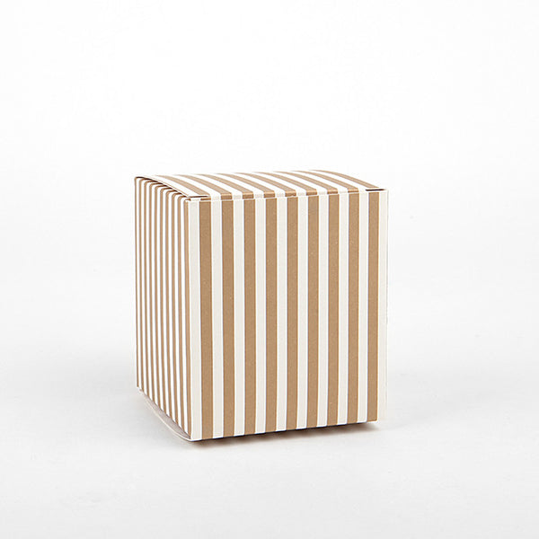Gift Box Small : Gold Stripe - 3pk
