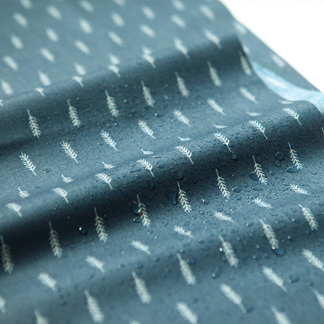 L037 Air in Forest : Feather 1000mm Laminated Fabric