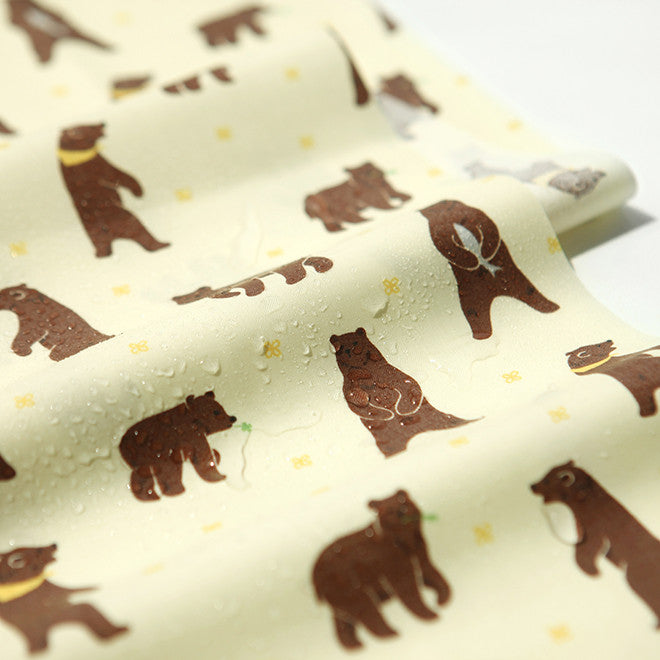 Laminated Fabric Yard : Walk through the Forest - Grizzly Bear
