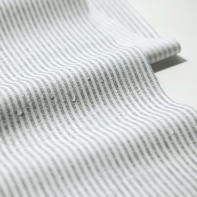L039 Nature : Stripe 1400mm Laminated Fabric