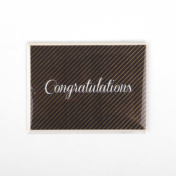Note Card : Congratulations