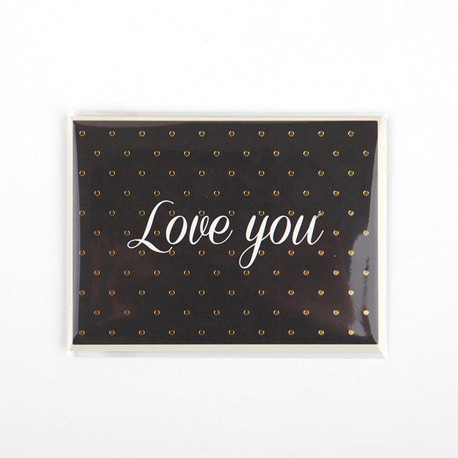 Note Card : Love You