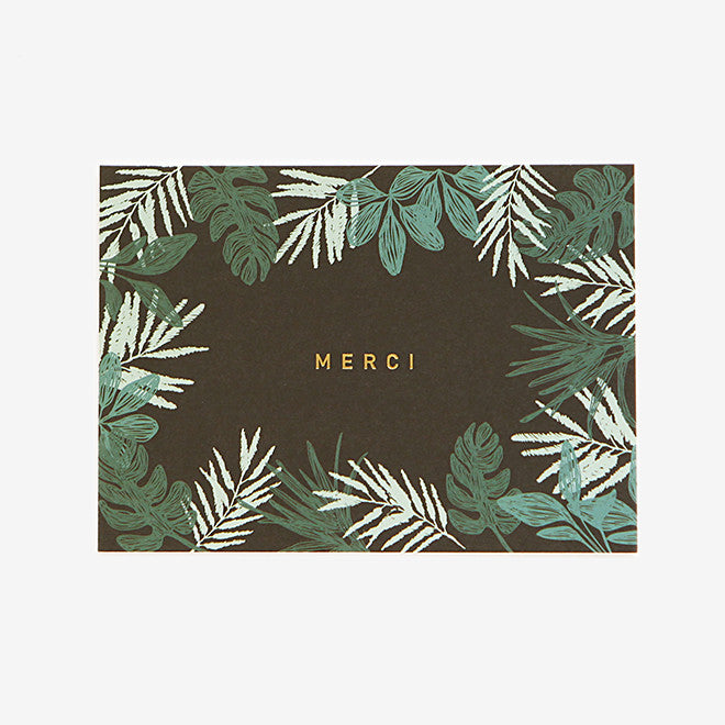 Note Card : Merci