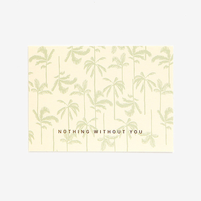 Note Card : Without You