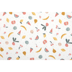 475 Organic Cotton : Fresh Fruits 1100mm Cotton 20C Fabric