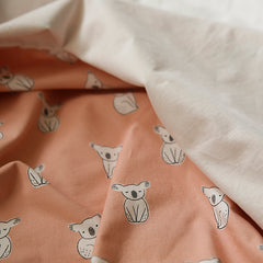 479 Organic Cotton : Koala 1100mm Cotton 20C Fabric