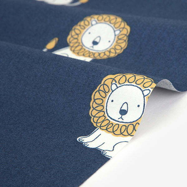 477 Organic Cotton : Little Lion 1100mm Cotton 20C Fabric