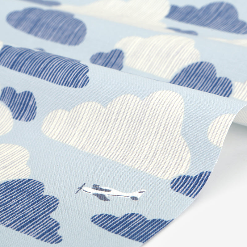 514 Azure Sky 1500mm Cotton Oxford Fabric