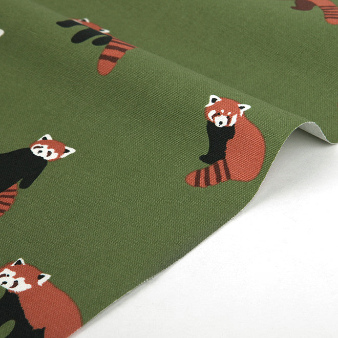 208 Lesser Panda 1500mm Cotton Oxford Fabric