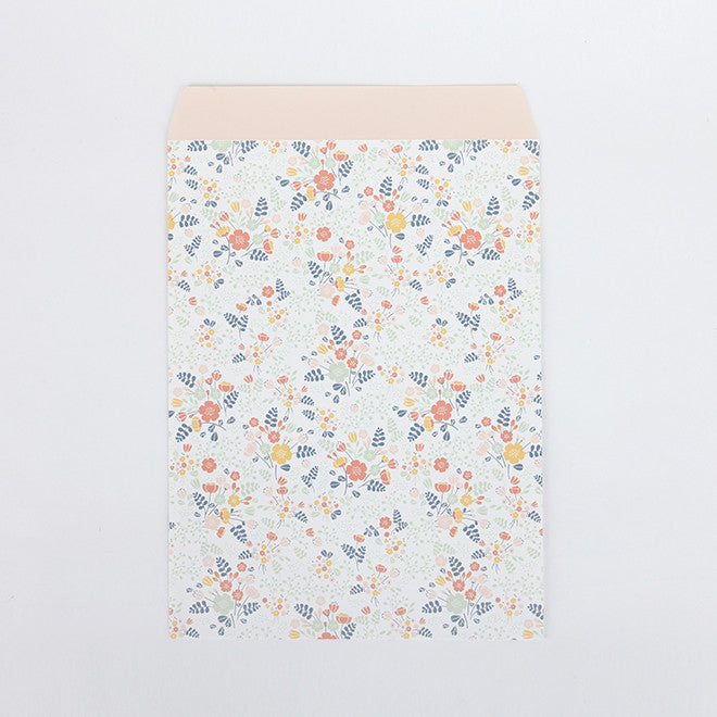 Patterned Envelopes Large : Wedding Bouquet - 5pk