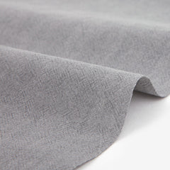 325 Pigment Washed : Mild Gray 1540mm Cotton 30C Fabric